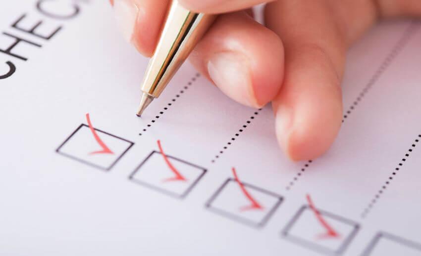 caregiver duties checklist